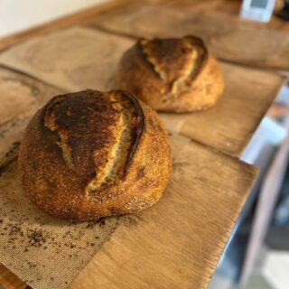 Bread from no. 8 - Handcrafted, small batch sourdough.
